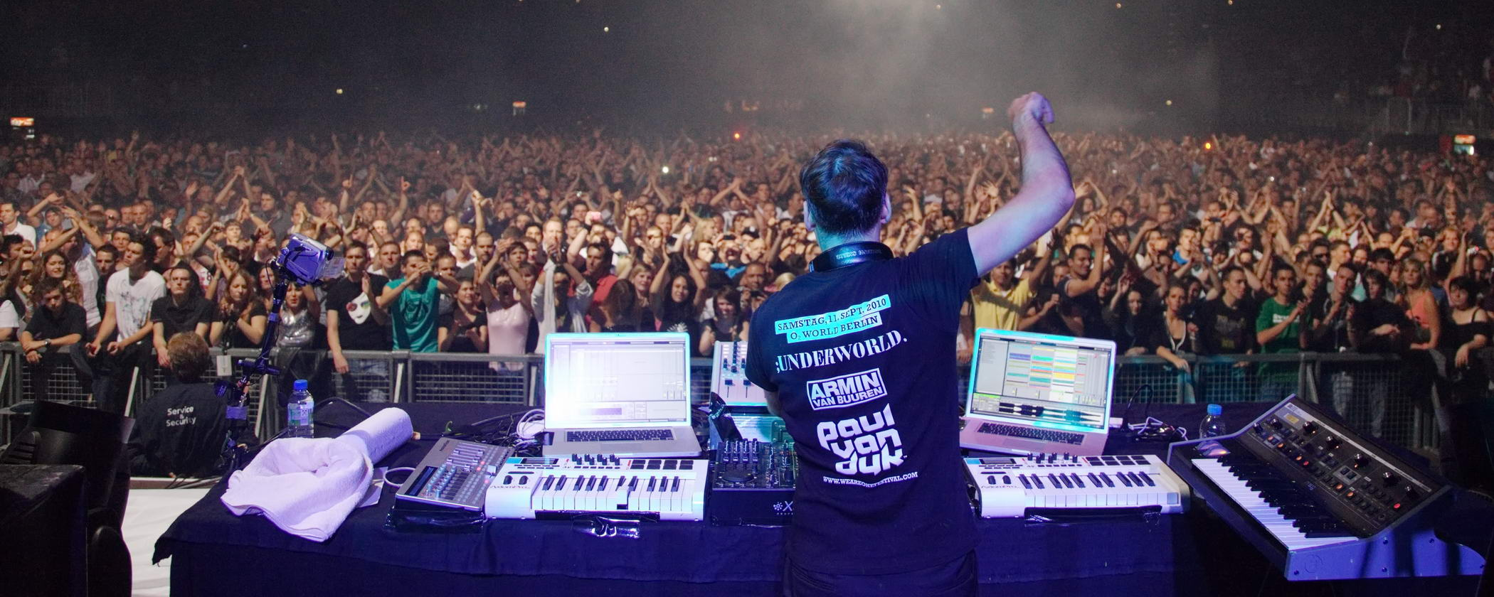Paul van Dyk - We Are One - Stagephotographer Gregor Anthes