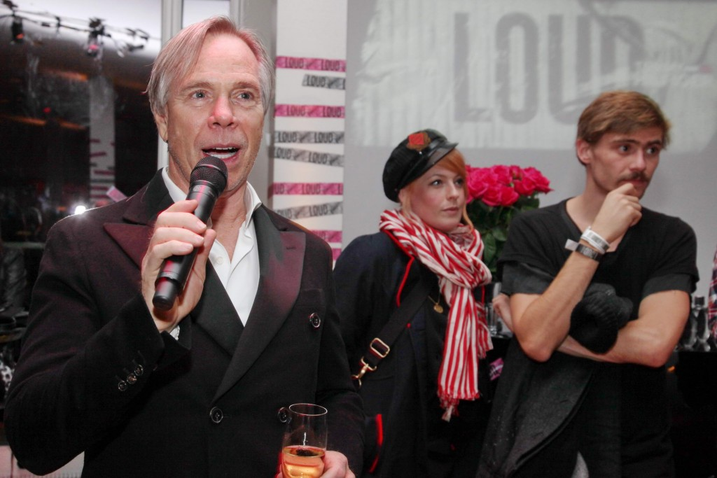 Tommy Hilfiger Speech at Loud Premiere in Berlin Gregor Anthes