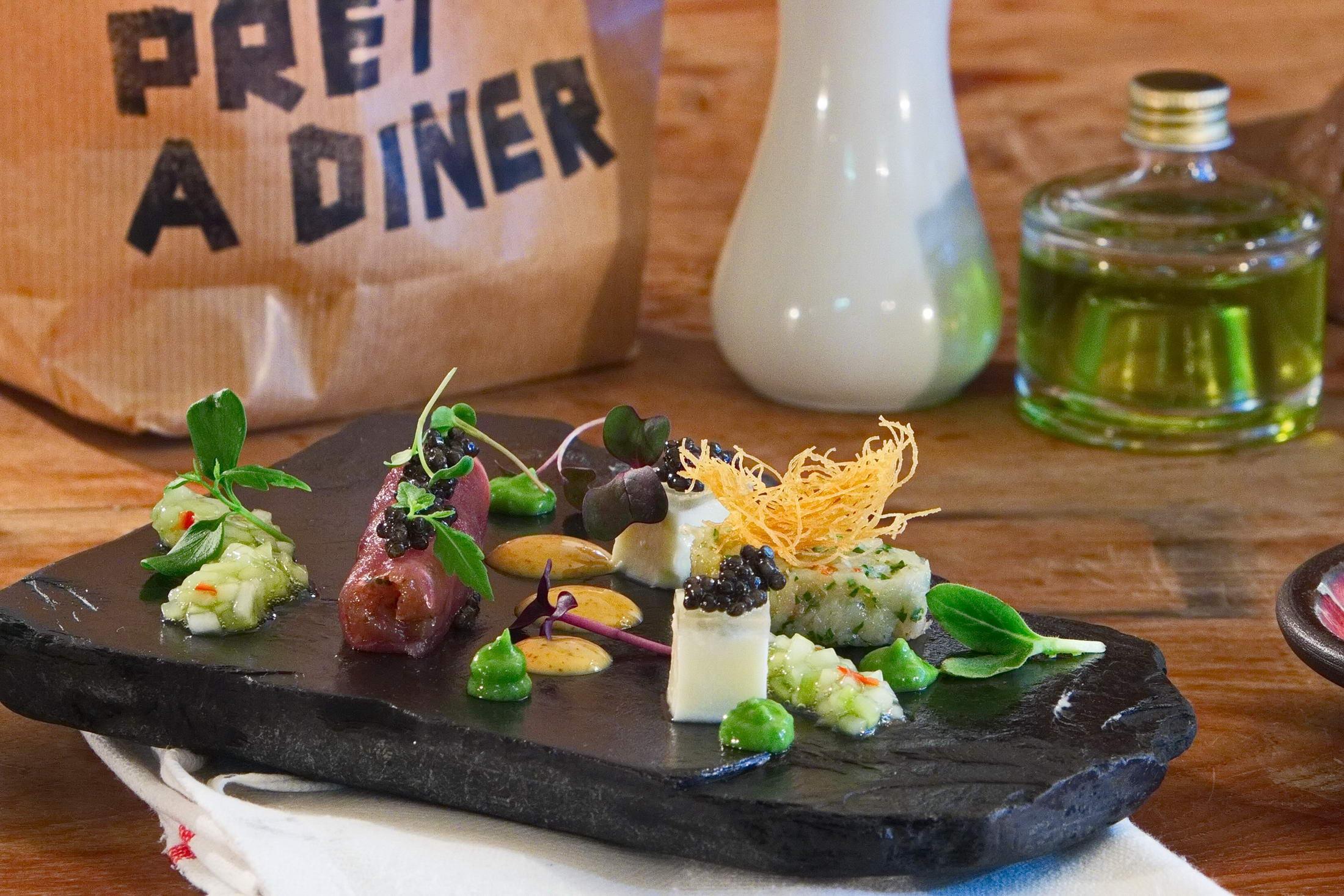 Pret a Diner - Kofler & Kompanie Menu Gregor Anthes