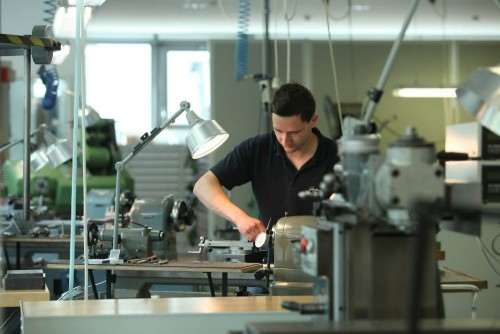 Glashütte Reportage im Produktionstandort Gregor Anthes