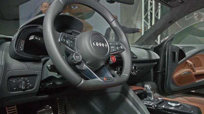 Audi R8 Release Präsentation in der Audi City / Berlin Gregor Anthes