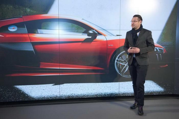 Audi R8 Vorstellung in der Audi City Berlin Gregor Anthes