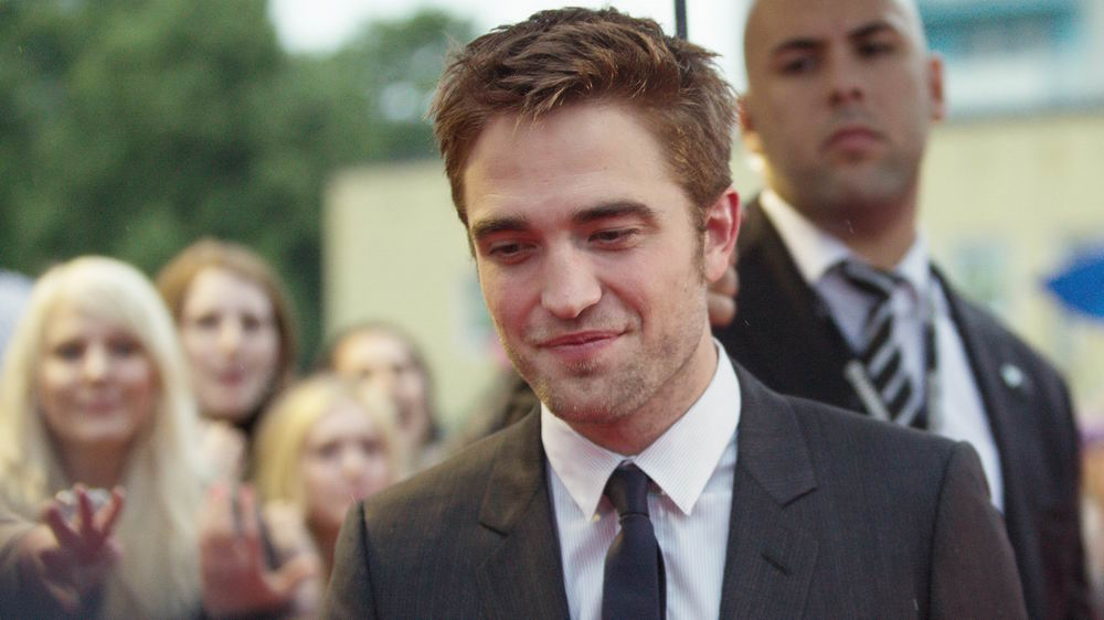 Cosmopolis Premiere - Robert Pattinson Gregor Anthes