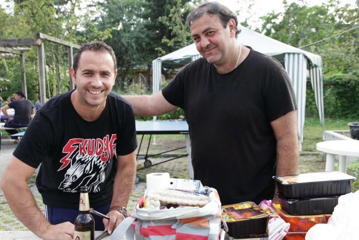 Refugee BBQ in Weißensee Gregor Anthes